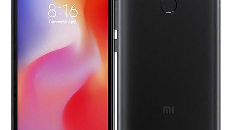 Xiaomi Redmi 6 Dual SIM 3GB/64GB černý (20869)