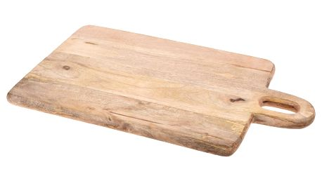 Prkénko z mangového dřeva 50 x 31 x 2,2 cm