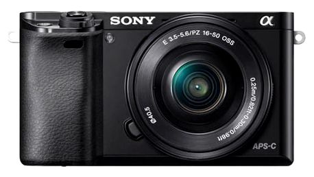 Sony Alpha A6000 + 16-50mm černý