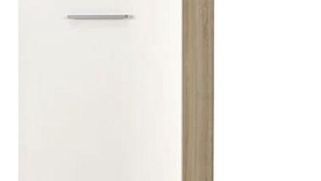 Šatní skříň LIMA REG-1 dub sonoma / bílá Halmar