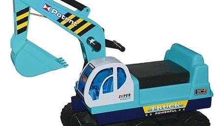 G21 27872 Hračka Dětský bagr pásový, modrý