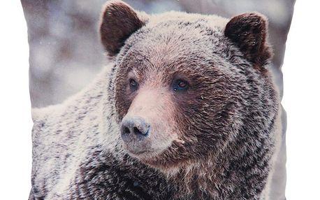 Koopman Polštářek Animals Medvěd, 45 x 45 cm