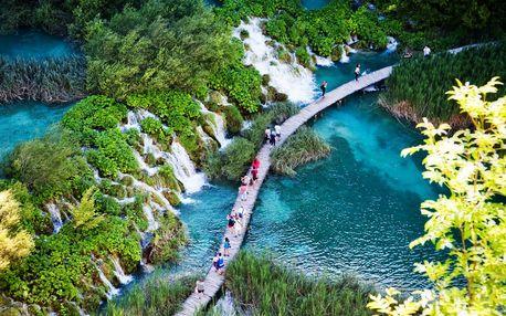 Zájazd do Národného parku Plitvické jazerá v Chorvátsku