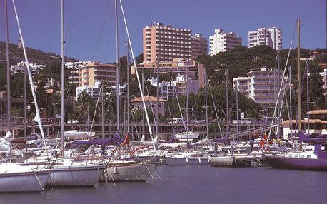 Španělsko - Mallorca na 8 dní, polopenze s dopravou letecky z Prahy 500 m od pláže