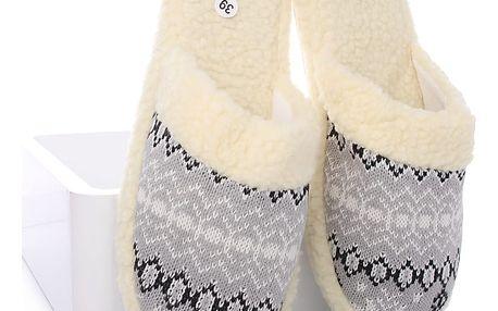 MODERN WORLD Dámské papuče TDC-811B Velikost: 37 (24 cm)