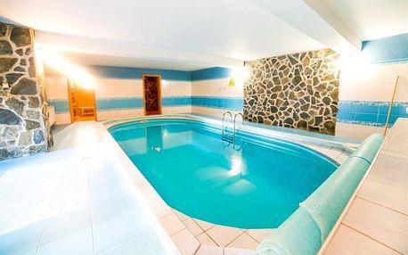 Orava s bazénem, saunou i solnou jeskyní