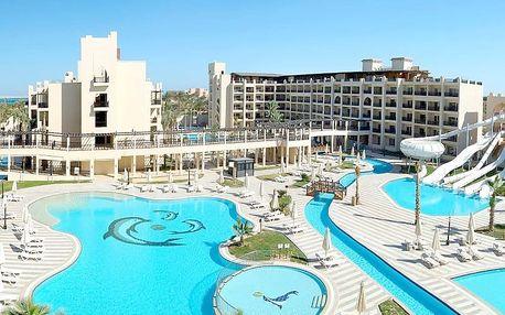 Egypt - Hurghada na 8 dní, all inclusive s dopravou letecky z Prahy 400 m od pláže