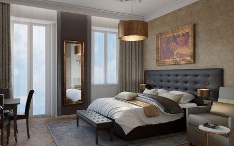 Hotel Alfons: stylové pohodlí v centru Prahy se snídaní