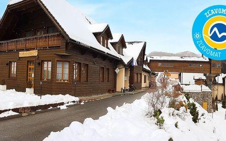 Wellness & SKI pobyt v atraktívnom prostredí Starohorských vrchov