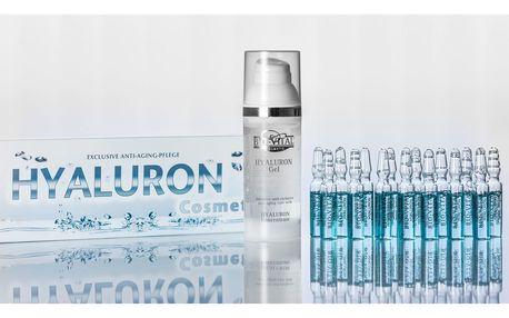Kyselina hyaluronová v ampulkách nebo v podobě gelu