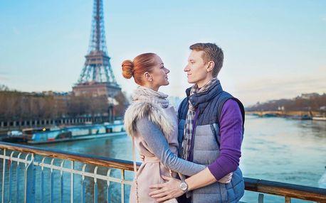 Valentýnský zájezd do Paříže na 4 dny