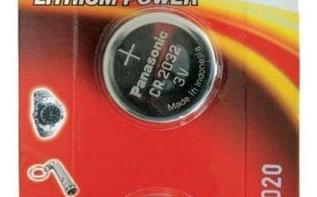 Panasonic Lithium Power, CR2032, 2 ks (3901)
