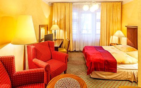 Hotel Grand*** u Máchova jezera s wellness a polopenzí