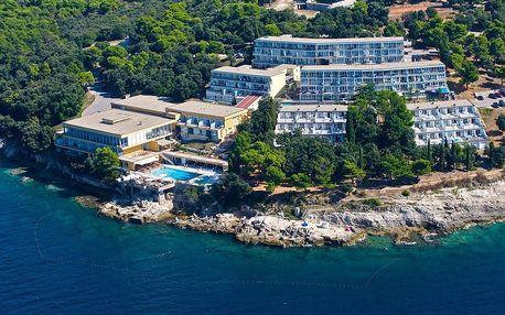 Chorvatsko - Pula na 8 dní, bez stravy s dopravou vlastní přímo na pláži
