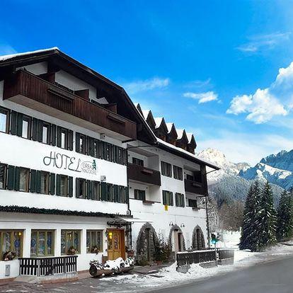 Lyžování Itálie, Dolomiti Superski - Hotel Orsa Maggiore - 5denní lyžařský balíček se skipasem a dopravou v ceně