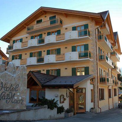 Lyžování Itálie, Jižní Tyrolsko - Hotel Sass Maor