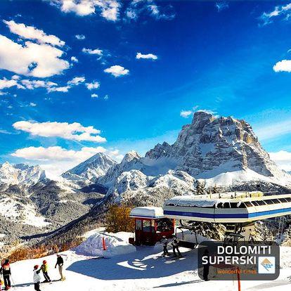 Lyžování Itálie, Dolomiti Superski - Hotel Savoia - 5denní lyžařský balíček se skipasem a dopravou v ceně