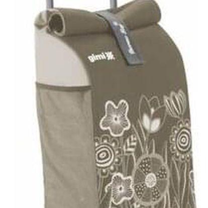 Gimi Nákupní taška na kolečkách Rolling Thermo hnědá, 50 l