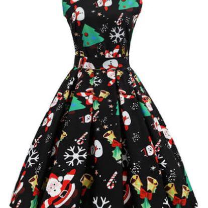 Dámské vánoční šaty Lizzie