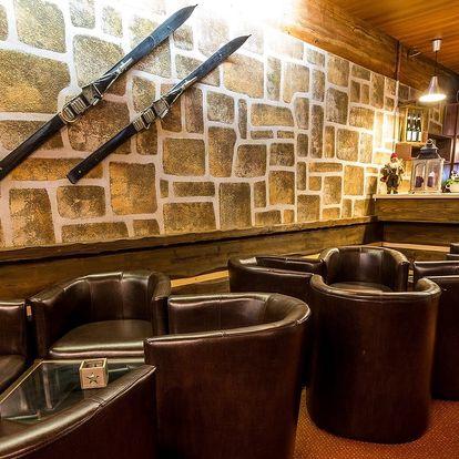 Hotel Barbora ve Špindlerově Mlýně s polopenzí a privátním wellness