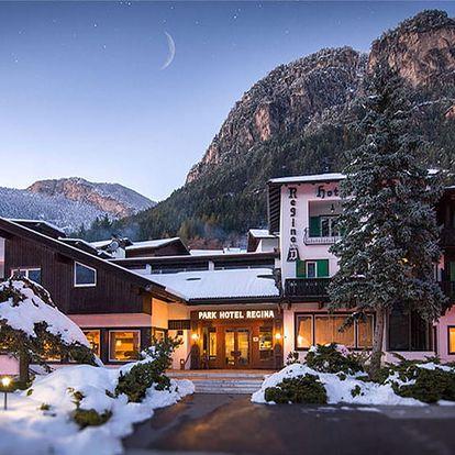 Lyžování Itálie, Jižní Tyrolsko - Hotel Regina Delle Dolomiti