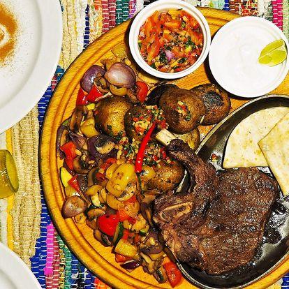 Tříchodové mexické menu i s digestivem pro 2 os.