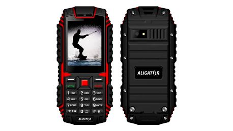 Aligator R12 eXtremo černý/červený (AR12BR)