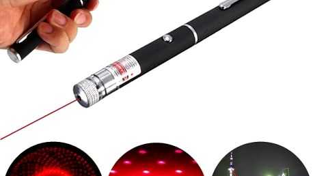 Červené laserové ukazovátko ve tvaru pera - 650 nm