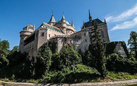 Slovensko v lázních Bojnice v hotelu u zámku s neomezeným fitness a polopenzí + varianty s wellness pro seniory