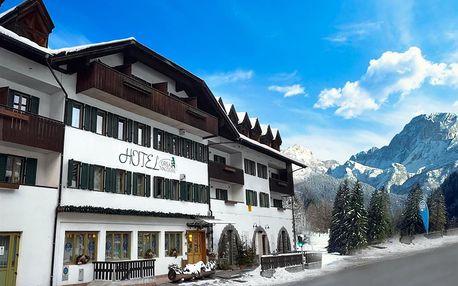 Lyžování Itálie, Jižní Tyrolsko - Hotel Orsa Maggiore - 5denní lyžařský balíček se skipasem a dopravou v ceně