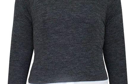 Dámský svetr s límečkem Lee Cooper