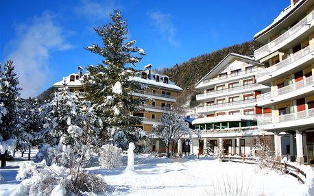 Lyžování Itálie, Valtellina - Hotel Urri - 5denní lyžařský balíček s denním přejezdem a skipasem v ceně