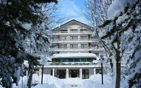 Lyžování Itálie, Valtellina - Hotel Urri - 6denní lyžařský balíček s denním přejezdem a skipasem v ceně