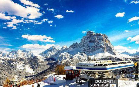 Lyžování Itálie, Jižní Tyrolsko - Hotel Savoia - 5denní lyžařský balíček se skipasem a dopravou v ceně