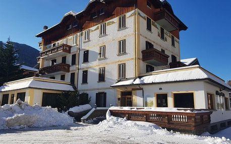 Lyžování Itálie, Valtellina - Hotel Posta - 6denní lyžařský balíček se skipasem a dopravou v ceně