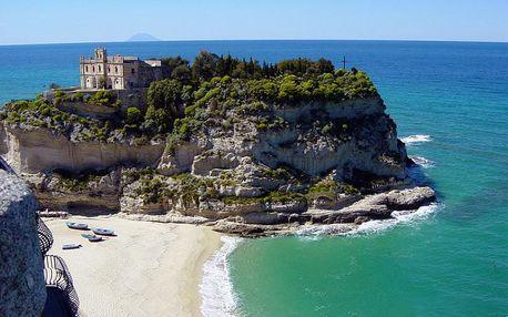 Kalábrie s výletem na Sicílii a Lipary s koupáním