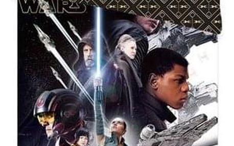Jerry Fabrics Dětské bavlněné povlečení Star Wars VIII, 140 x 200 cm, 70 x 90 cm
