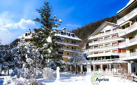 Lyžování Itálie, Valtellina - Hotel Urri - 5denní lyžařský balíček se skipasem a dopravou v ceně