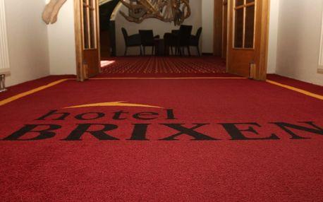 Hotel Brixen*** v Havlíčkově Brodě s vířivkou na pokoji