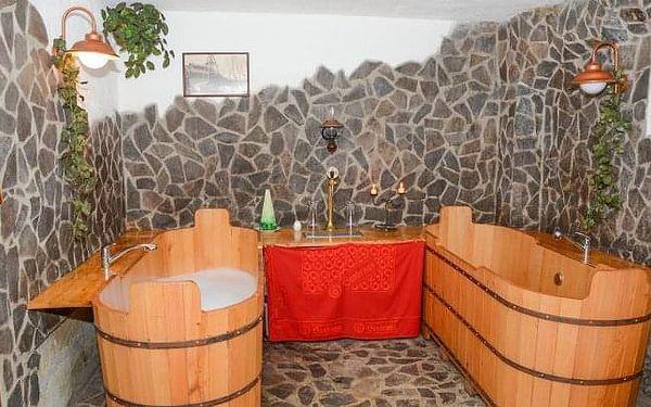 Žďárské vrchy s pivní koupelí a wellness