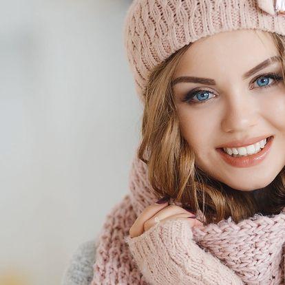 Kosmetické ošetření pleti včetně peelingu