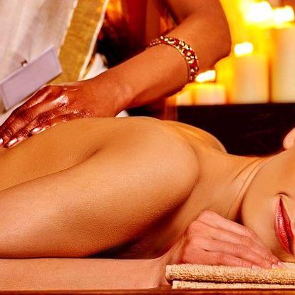 Thajská masáž dle výběru a aroma lázeň nohou