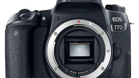 Digitální fotoaparát Canon EOS 77D tělo černý (1892C003AA)
