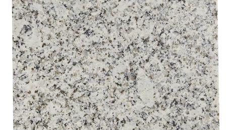 MADAM STOLTZ Žulové prkénko Granite 20x30 cm, šedá barva, kámen