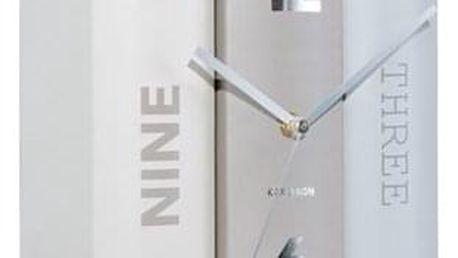 Karlsson 5628 Designové stolní hodiny, 20 cm