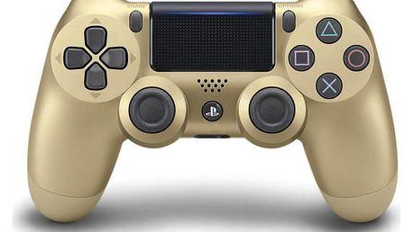 Sony Dual Shock 4 pro PS4 v2 zlatý (PS719895251)