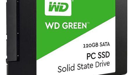 Western Digital Green 2.5'', 120GB, SATA/600, 7mm, 3D NAND (WDS120G2G0A)