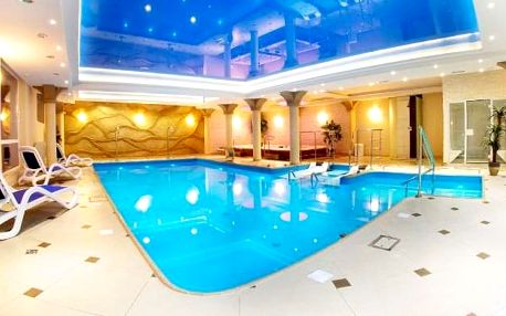 Jižní Polsko, elegantní hotel Adam SPA v polském lázeňském městě u hra