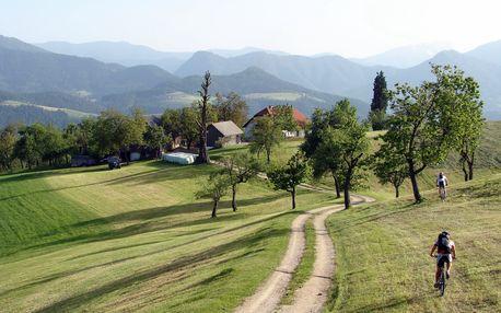 Slovinsko MTB - pro pohodáře, 4 dny s dopravou, ubytováním a polopenzí