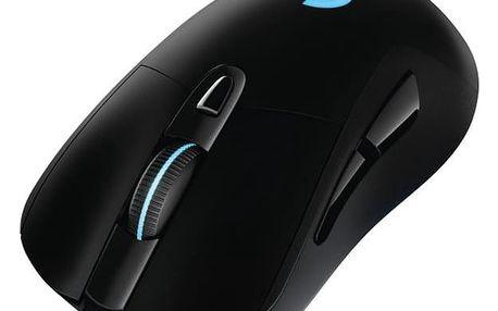 Logitech Gaming G703 Wireless černá / optická / 6 tlačítek / 12000dpi (910-005093)